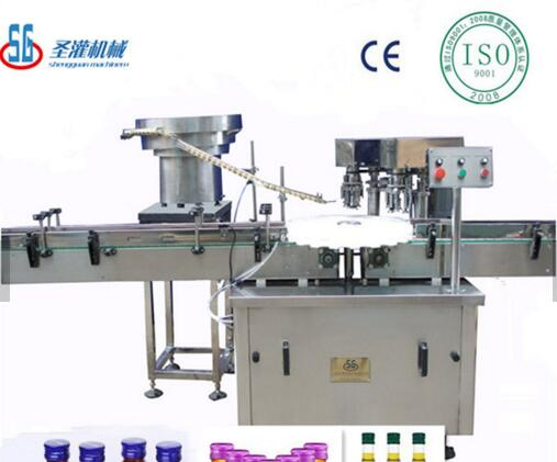 SGXZ--Automatic aluminium bottle caps close machine SUS304