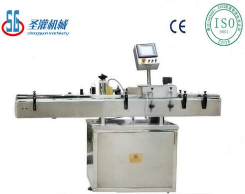 SGLT automatic bottle labeling machine round square flat