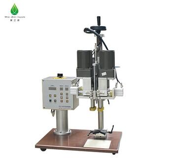 Semi-Automatic manual bottle table cap making machine