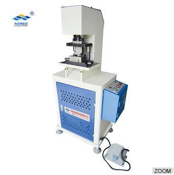 GHCC-1 Upvc steel core window steel linear hydraulic punching window hole cutting machine