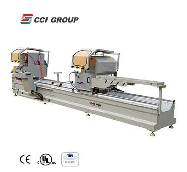 Aluminum Alloy Precise Double Miter Saw for making upvc window frame