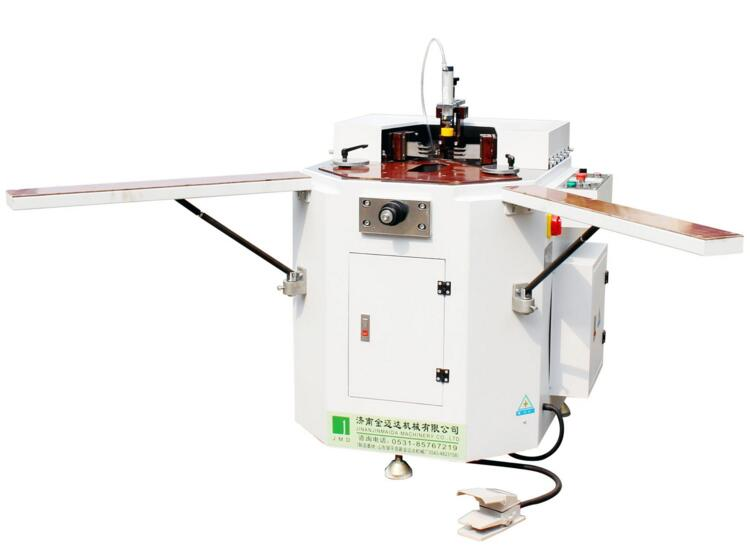 LJZJSA-120 Aluminum window frame corner crimping machine