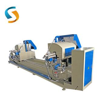 LJZY-500X4200 Best Prices China Digital display double head precision cutting saw machines