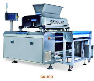 new depositor and wire cut cookie making machine