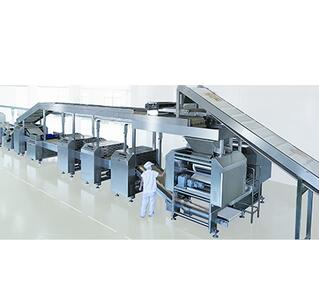 Automatic multifunction biscuit equipment
