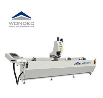 Automatic Aluminum Folding Glass Doors Windows Processing Machine CNC Drilling Milling Machine
