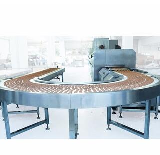 new well made 90 degree and 180 degree turning for biscuit line