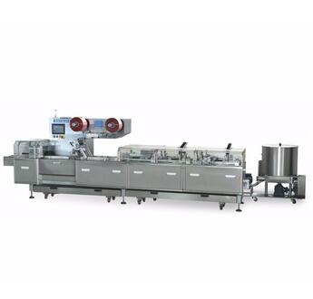 Fully automatic high speed sandwiich and packing machine