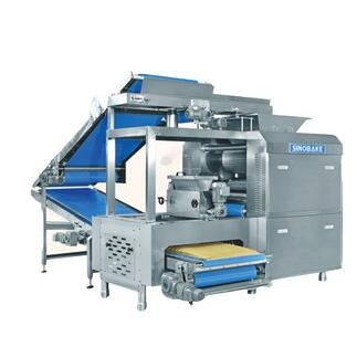 Fully automatic complete biscuit line