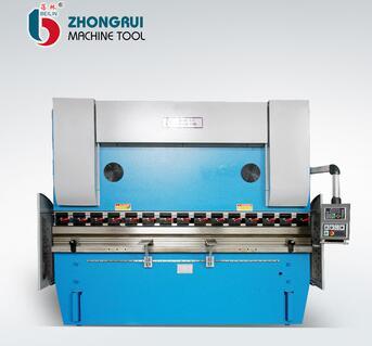 WF67K 125ton 3200 cnc synchro hydraulic press brake machine for making boxes, lids, doors
