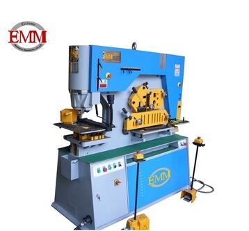 Q35Y-30 hydraulic iron worker for iron bending and angle iron punching machine