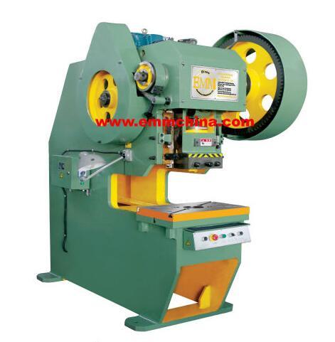 EMS21-16 C-frame Deep-throat power press steel plates welded machine