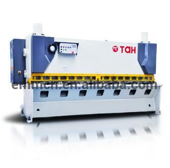 QC11Y-8x2500 guillotine hydraulic shear sheet steel shearing machine