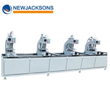 NJ-SHZ4-4500 Factory Supply PVC Window Four Head Welding Machine