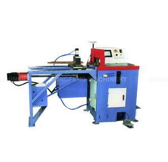 MC-455LCNC cnc metal steel single head tube cutting saw aluminum window machine