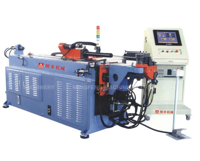 DM-38CNC-2SII machinery used double-layer die cnc square tube pipe bending machine for window