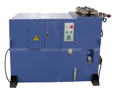 JM-38-HB customized small diameter exhaust pipe rolling welding round machine