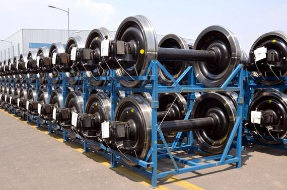 AAR railway wheelset railcar wheelset locomotive wheelset metro wheelsets rail wheel sets railroad wheel set
