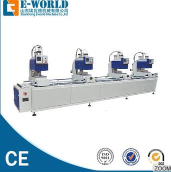 HJ02-4500 automatic pvc window production line with competitive price