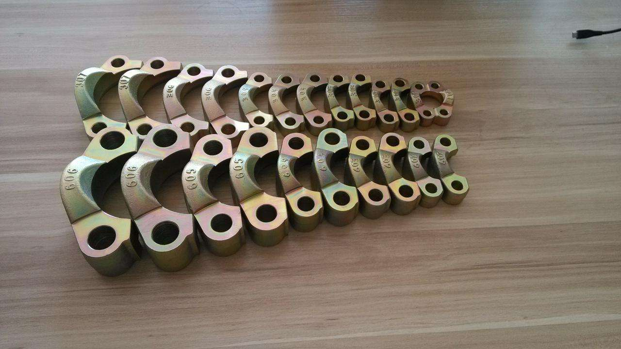 China SAE Split flanges code 61 / code 62