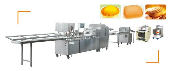 A Type Milk bouquet Bread Production Line / B Type Soft Bread Production Line