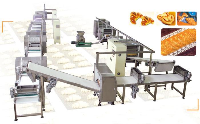 HYSMX-600 Type Crisp Bread Line