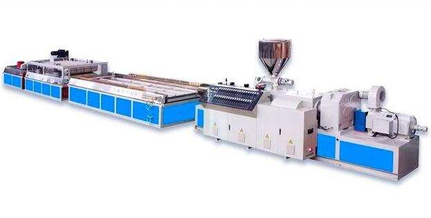 PVC Door Panel Plastic Forming Machine