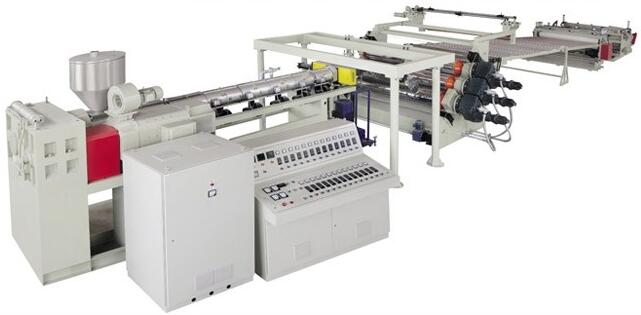 PC/PMMA Sheet & Plate Extrusion Line