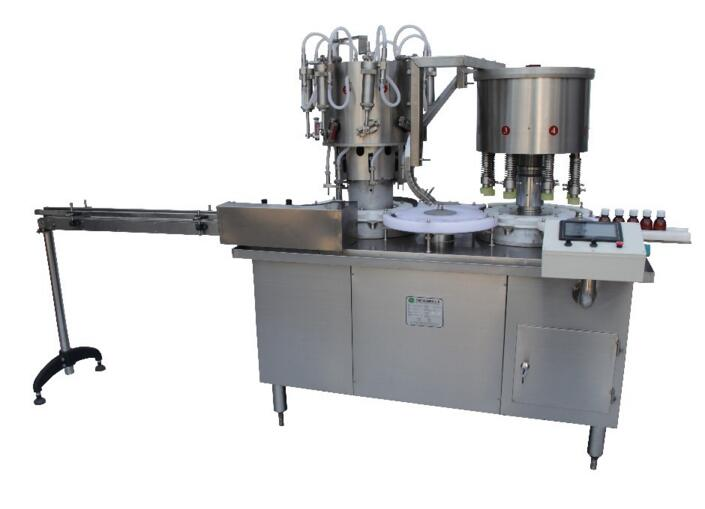 Automatic Filling Capping Machine for Round Perfume/Cosmetic Bottles