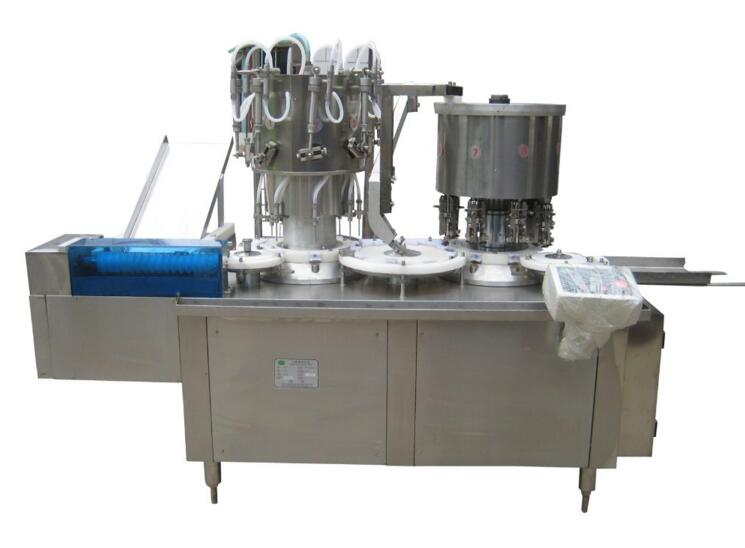 Oral Solution Automatic Filling Capping Machine for Round Bottles