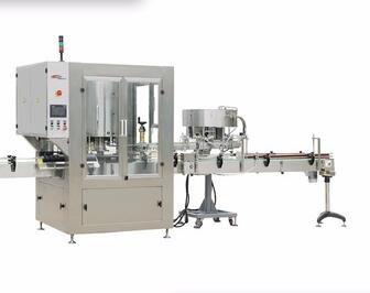 HGX-6A Fully-automatic ISO9001 rotary capping machine