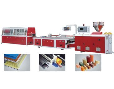 PVC/PP/PE/PC/ABS Small Profile Extrusion Line