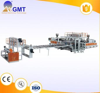 solid strong resistance pvc panel extrusion machine