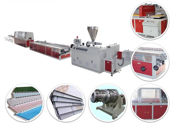 Outstanding Quality pvc profile production extrusion extruder line machine
