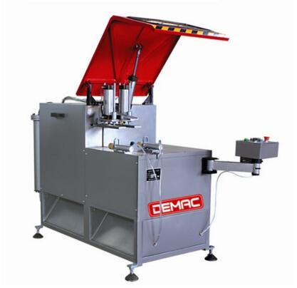 Single head 90 degree aluminum frame cutting machine