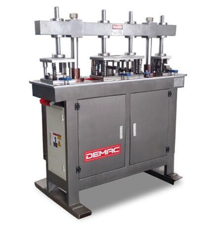 Hydraulic four working table punching machine for aluminium