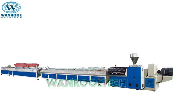 pvc profile pvc edge banding production line