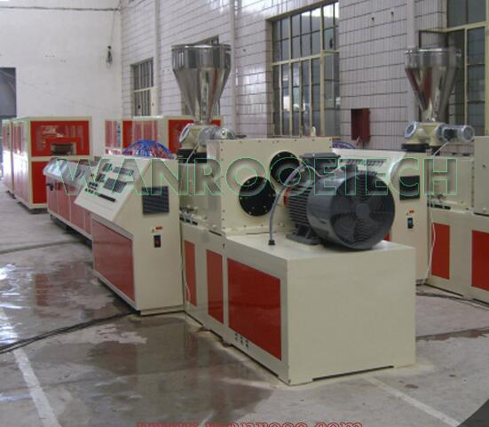 new design pvc profile extruder machine extrusion machine