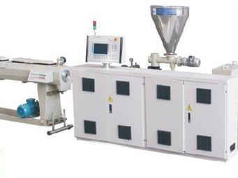 UPVC Production Line Plastic Window And Door Profile Extrusion Making Machine