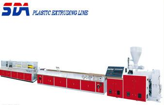 PVC Window Machine/Extruder Machine Plastic/Wood and Plastic Profile Production line