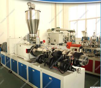 PVC plastic extruder production line