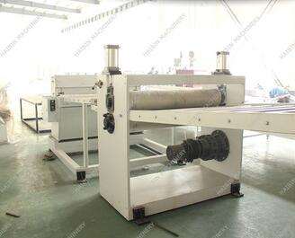 plastic pvc board extruder machine for sale