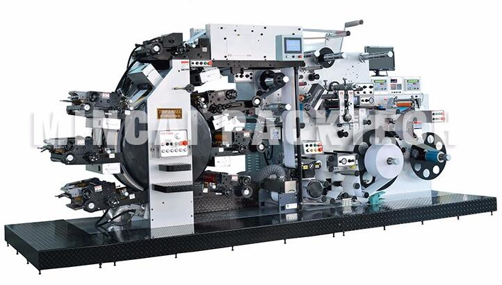 JT-260R6C+1V Toothpaste Tube Web Offset Printing Machine