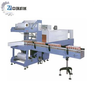 ST-6030A+SM-6040 Auto PE Shrink Packaging machine