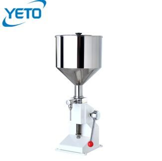 A03 cheaper price small stainless steel manual cosmetics cream filling machine