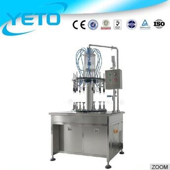 China high speed automatic 10 heads nozzle perfume bottle filling machine,automatic perfume filling machine