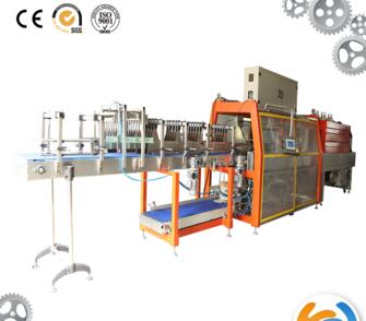 Automatic bottle sleeve shrink wrapping packing machine with Ce certificate
