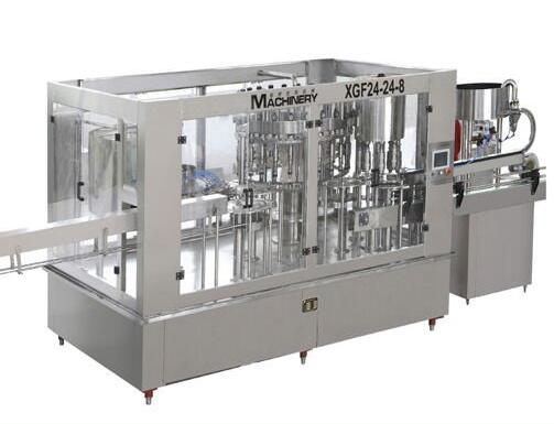 ke yuan PET Automatic bottle washing filling capping machine