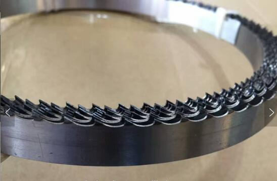 35mm TCT band saw blade by welded