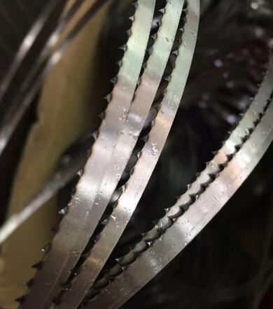 Food grade meat band saw blade by coil